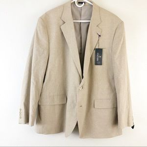 Stafford Sand classic Fit blazer size 50R